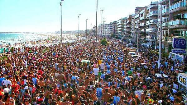 No total, mais de 40 blocos irão animar a folia durante o carnaval em Cabo Frio.