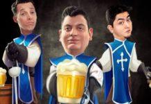 """Teatro de São Pedro recebe a comédia """"Os três cervejeiros"""" nesta quarta"""