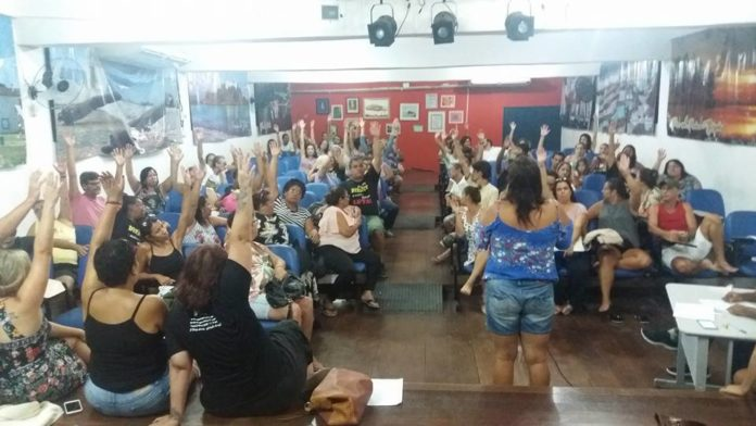 Sepe realiza assembleia nesta quarta para definir rumos da greve em Cabo Frio