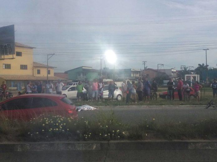 Homem morre atropelado na manhã desta terça em São Pedro da Aldeia