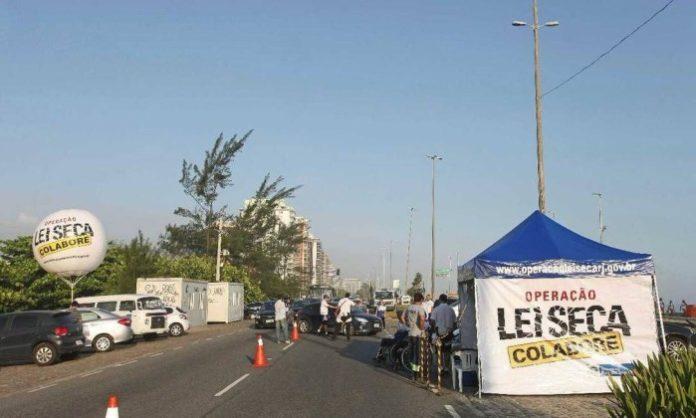 Região dos Lagos é destaque no índice de motoristas alcoolizados nas ações diurnas da Lei Seca