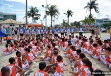 Colônia de férias do projeto Defesinha é iniciado em São Pedro da Aldeia