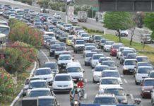 Rodovia ficou interditada na noite de quarta-feira no sentido Rio. Foto: Divulgação/ CCR Via Lagos.