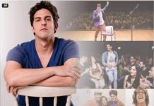 Teatro de São Pedro recebe show de comédia do ator Rafael Infante