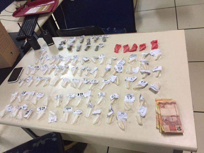Grupo é detido em São Pedro da Aldeia por tráfico de drogas