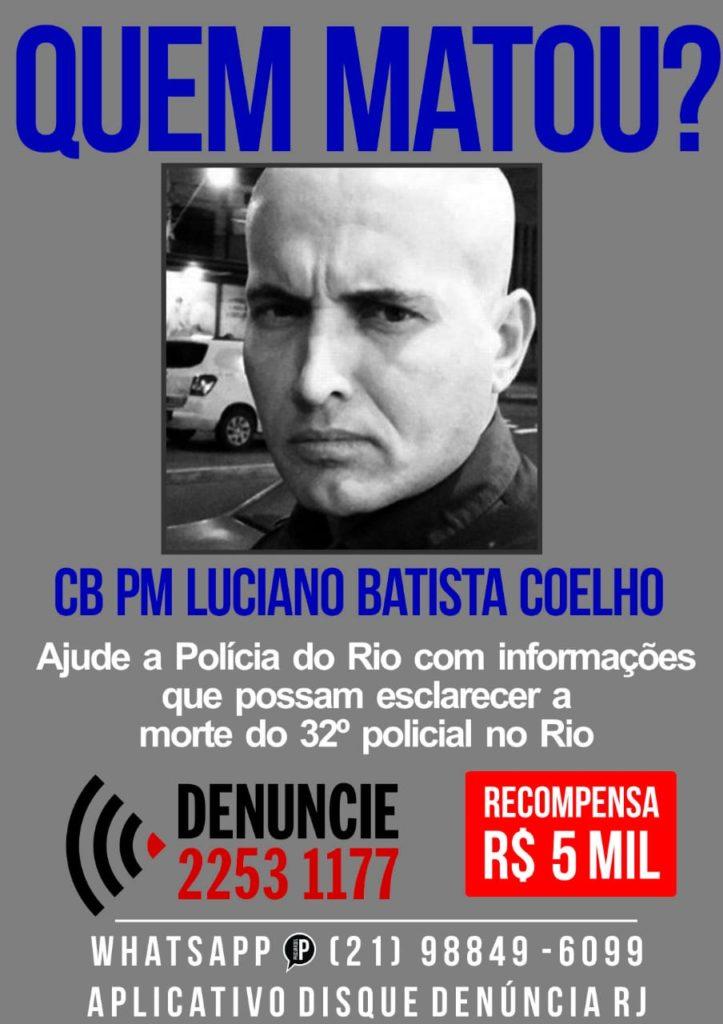 Disque Denúncia oferece recompensa de R$ 5 mil para quem ajudar a esclarecer o crime