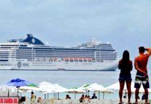 Cabo Frio terá rota movimentada de transatlânticos no mês de março