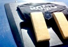 Cerca de 1,4 quilos de maconha são apreendidos no Morro da Guia