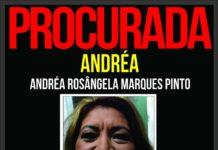 Andréa já havia sido presa em 2012por outros golpes. Foto: Reprodução/ Portal dos Procurados