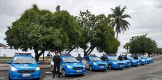 Sete veículos usados nas rondas escolares serão remanejados para os principais pontos turísticos da região. Foto: Divulgação/ Polícia Militar