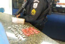 Homem é preso com mais de 1kg de maconha em Búzios
