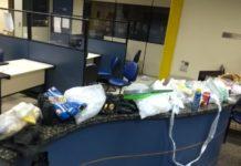 Material foi encontrado em local usado pelo tráfico
