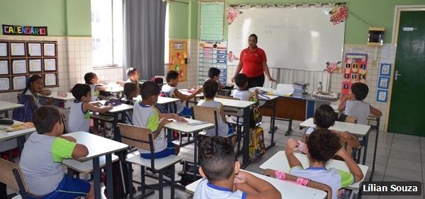 No total, oito aulas foram ministradas a crianças da Educação Infantil.