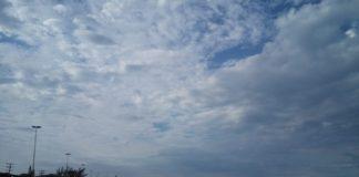 Previsão do Instituto traz dias nublados, e probabilidade de chuva. Foto: Fonte Certa