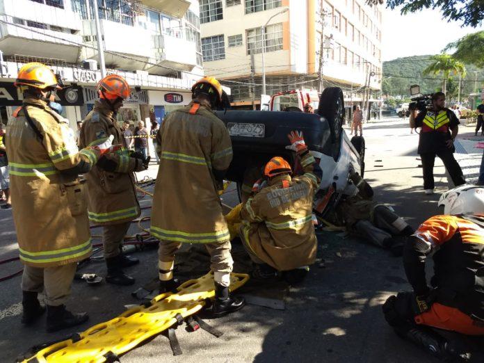Atividade aconteceu a Praça Porto Rocha na manhã desta terça (12). Foto: Mateus Marinho Matos