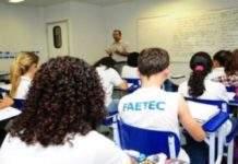 Faetec de São Pedro oferece oficinas gratuitas de redação e matemática