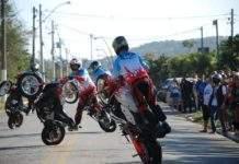 Evento terá atrações como globo da morte, show de wheeling, apresentações de 14 bandas de rock. Foto: Divulgação/ Búzios Moto Clube