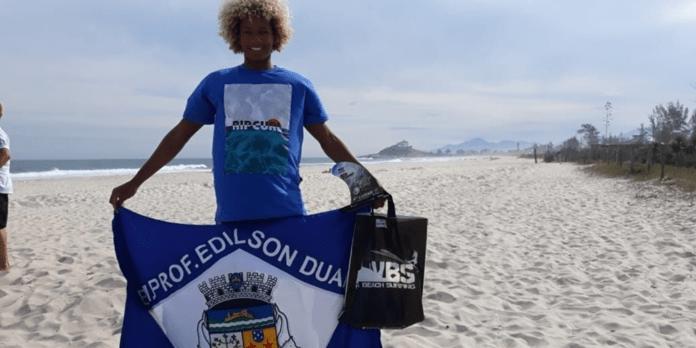 Kawã da Silva Francisco garantiu o 4º lugar geral na categoria sub-15. Foto: Reprodução/Internet
