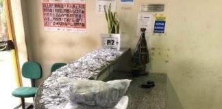 Material apreendido em ação em São Pedro da Aldeia. Foto: PM/Divulgação