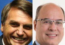 Destaque é de São Pedro da Aldeia, onde Jair Bolsonaro teve 80,60% de preferência e Wilson Witzel conquistou 82,48% dos votos. Foto: Reprodução/Internet