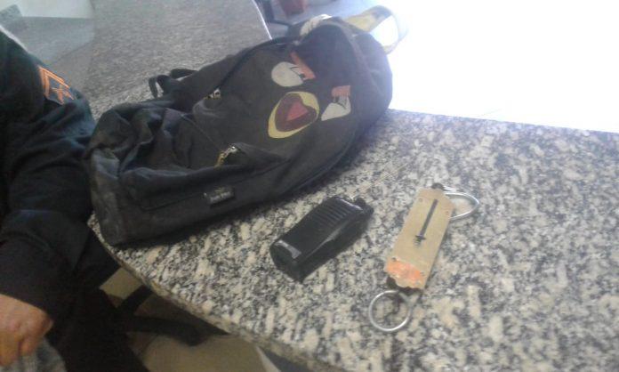 Atiradores fugiram e ninguém ficou ferido. Foto: PM/Divulgação
