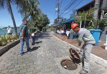 Despejos foram fechados e comerciantes serão multados, segundo os agentes. Foto: Prefeitura/Divulgação