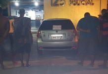 Segundo a PM, suspeitos confessaram fazer parte do tráfico na região de Búzios. Foto: PM/Divulgação