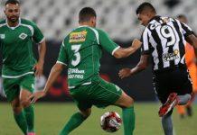 Tricolor praiano venceu de virada por 3x1. Foto: Vitor Silva/Reprodução