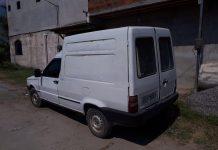 Veículo tinha sido roubado em Maricá e foi achado em um ferro velho. Foto: PM/Divulgação