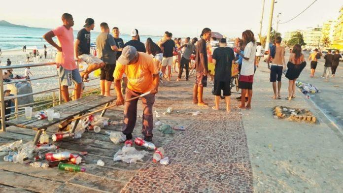 Entre 29 de dezembro e 2 de janeiro foram 45 notificações e 50 apreensões. Foto: Divulgação/ Prefeitura de Cabo Frio