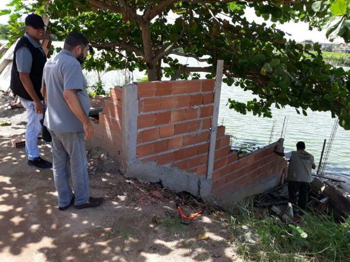 Construção foi feita às margens da Lagoa de Unamar, no segundo distrito. Foto: Prefeitura/Divulgação
