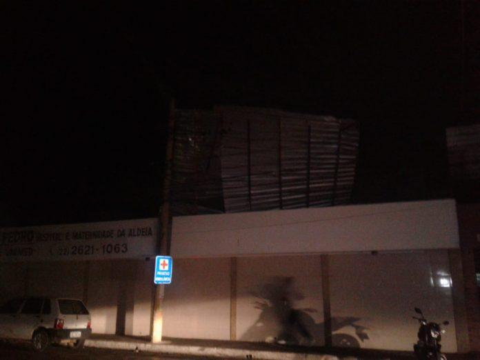 Estrutura do Hospital da Missão de São Pedro da Aldeia. Foto: Defesa Civil/Diulgação