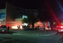 Cerca de 20 pessoas foram até o local e PM foi acionada para conter a situação. Foto: PM/Divulgação