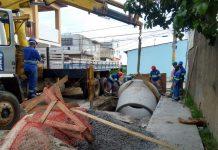 Unidade de bombeamento reforça o sistema de captação no bairro São João. Foto: Prolagos/Divulgação
