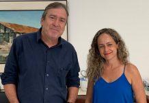 Professora Márcia Almeida foi nomeada pelo prefeito nesta segunda (13). Foto: Prefeitura/Divulgação