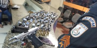 Operação da PM aconteceu em conjunto com a Polícia Civil. Foto: PM/Divulgação