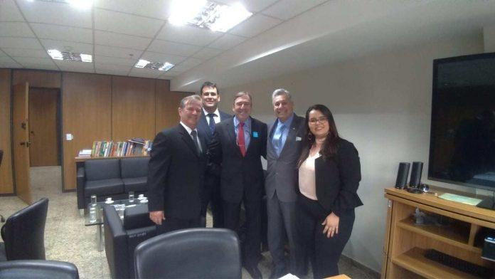 Nessa segunda-feira (29), o prefeito de Cabo Frio Adriano Moreno (Rede) seguiu para Brasília para tratar de recursos federais