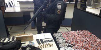 Esta sendo feita uma operação no bairro Manoel Correia desde das 06h20 da manhã desta quarta-feira (07).