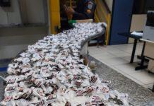 Um homem indicado como gerente do tráfico foi preso nesse domingo (11) na Florestinha em Unamar, Cabo Frio.