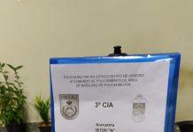 Duas pessoas foram presas por tráfico de drogas na rodoviária de Araruama, transportando 3,2 kg de maconha, nessa quinta-feira (22).